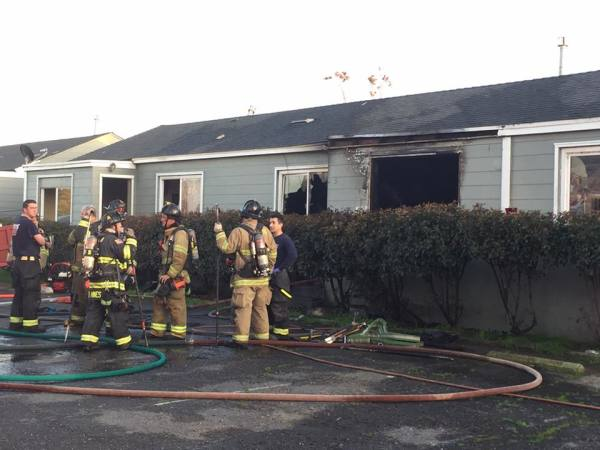 Apartment Fire In Empire Claims Life Of Child.