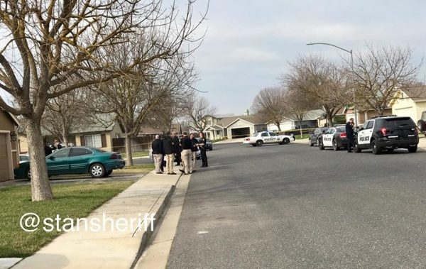 Officer-Involved Shooting In Newman.