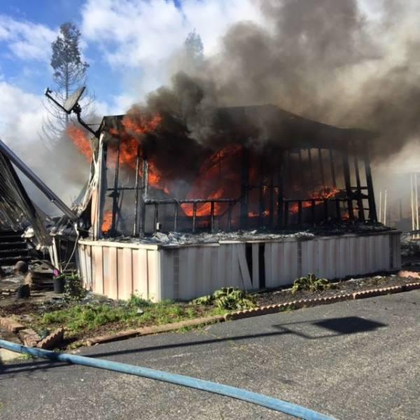 Fire On Oakdale Road Displaces Five.