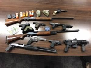 Traffic Stop Results In Large Gang Unit Bust.