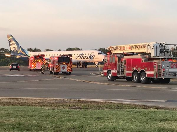 Alaska Airlines Forced To Land In Modesto.
