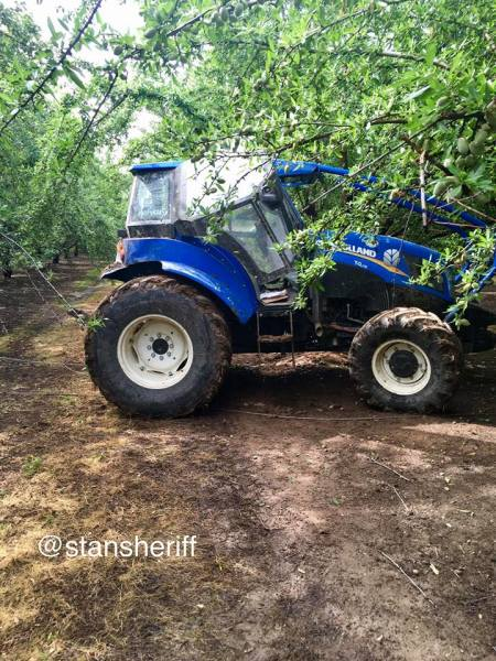 Tractor Thief Captured By Employees.