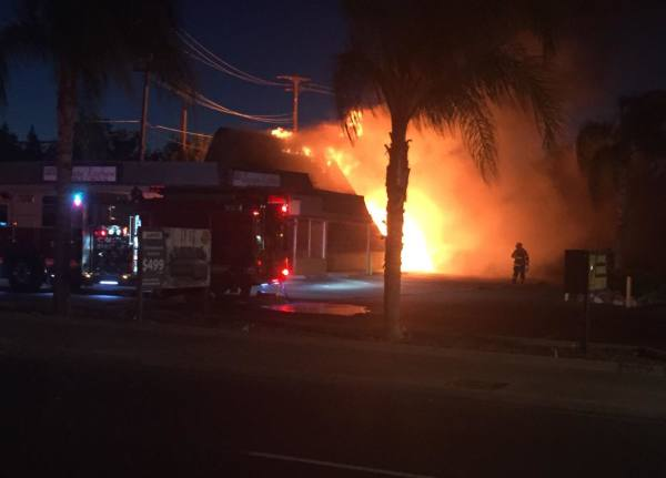 Fire At Lee's Chinese Kitchen.