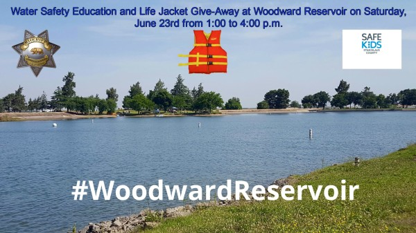 Water Safety At Woodward Reservoir.