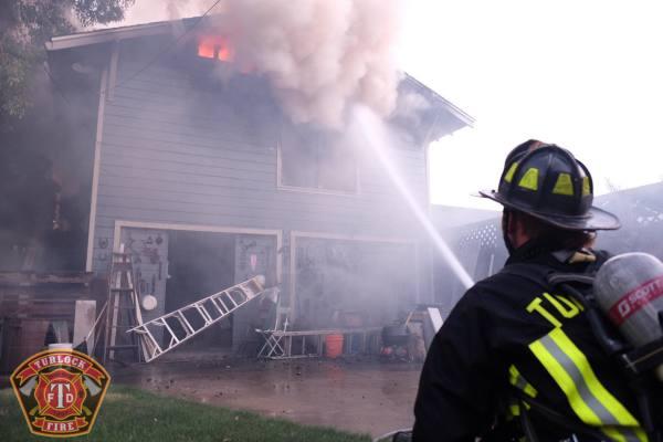 Man And Kitten Survive Fire.