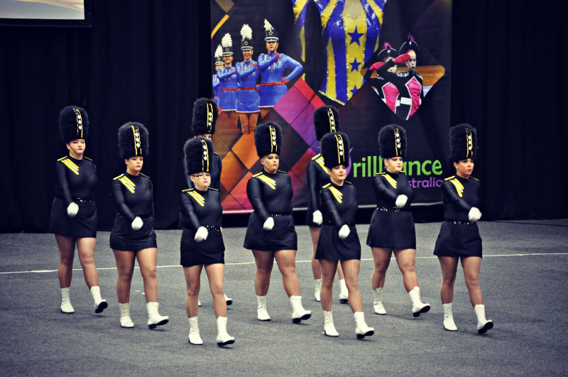 Werribee DrillDance Club seniors - Ascendancy