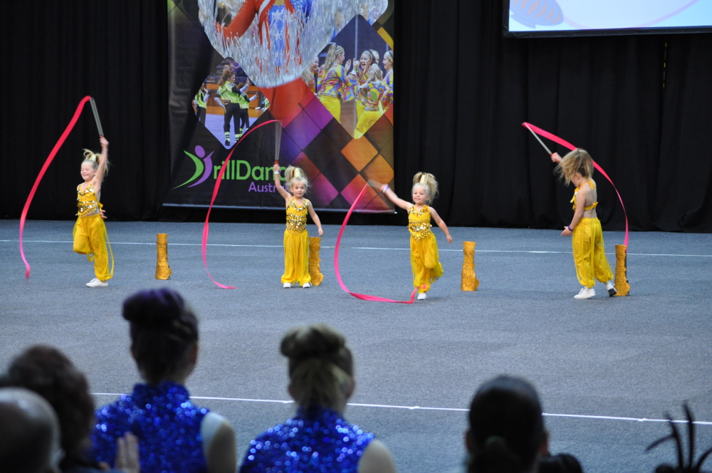 Werribee DrillDance Club under 8's - Ascendancy
