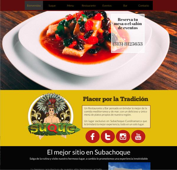 www.suque.com.co - Página web