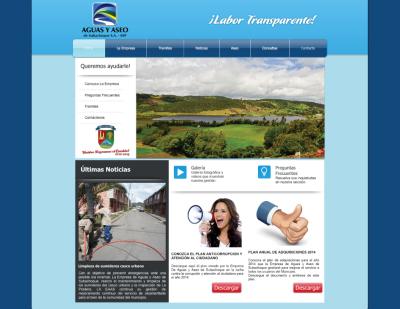 Cliente: Empresa de Aguas y Aseo de Subachoque