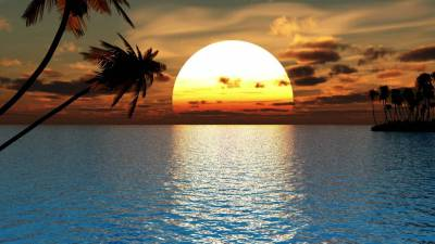 THE LAST SUNSET. A poem by SATHIAN .
