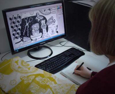 Optimising digital image for digital textile printing