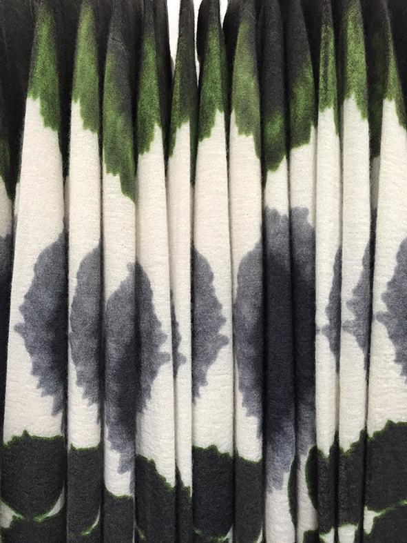 luxury sweater mohair silk digital print printed knitwear