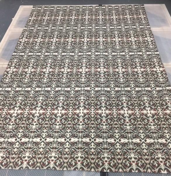 digital printing merino wool melton