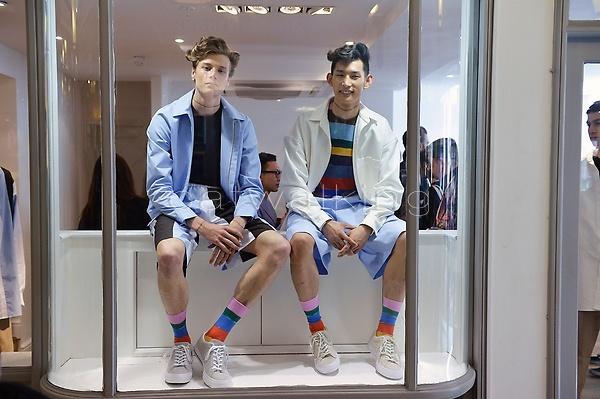 Digital printing socks and sweaters