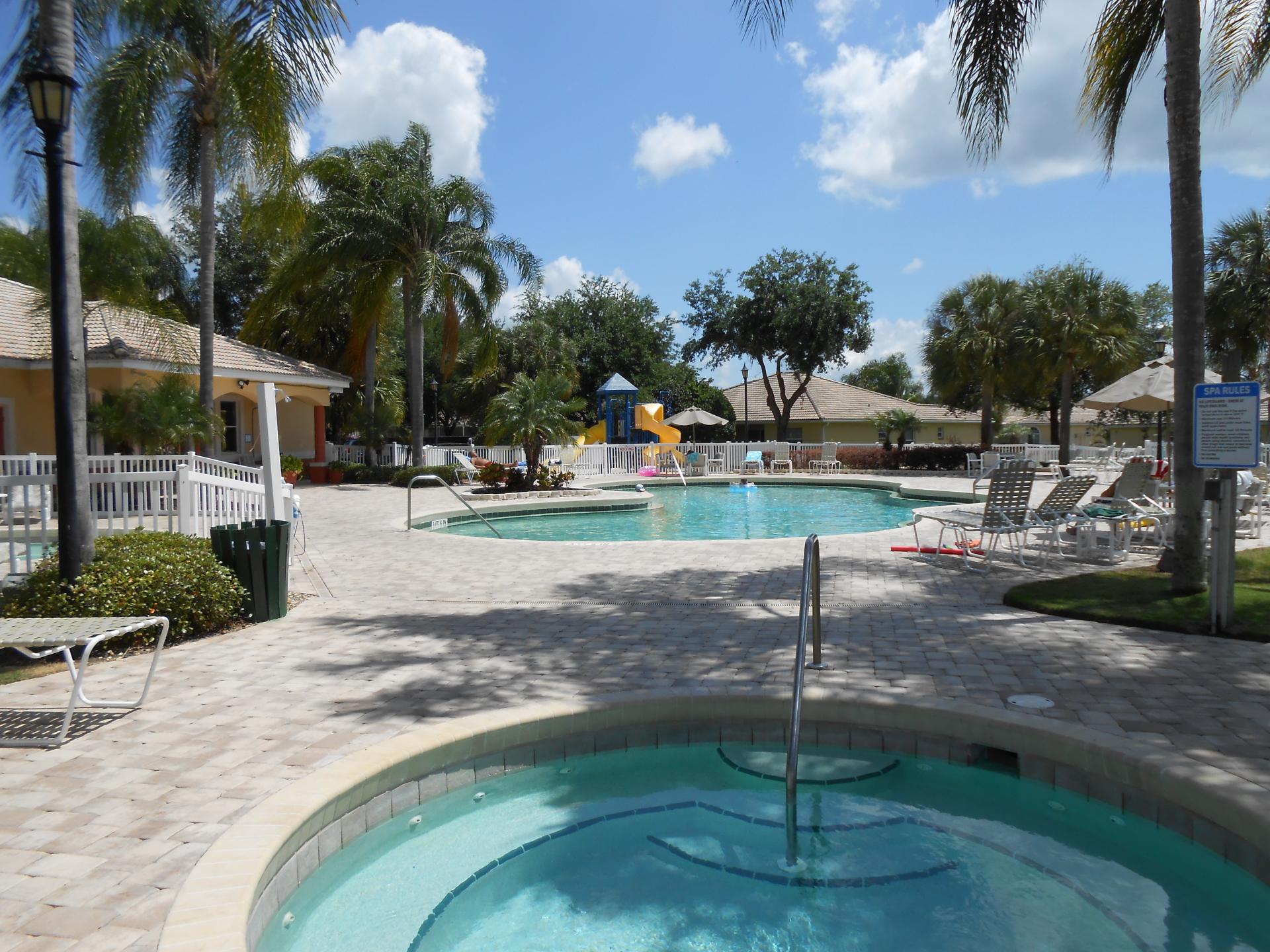 Main Pool area at Club House