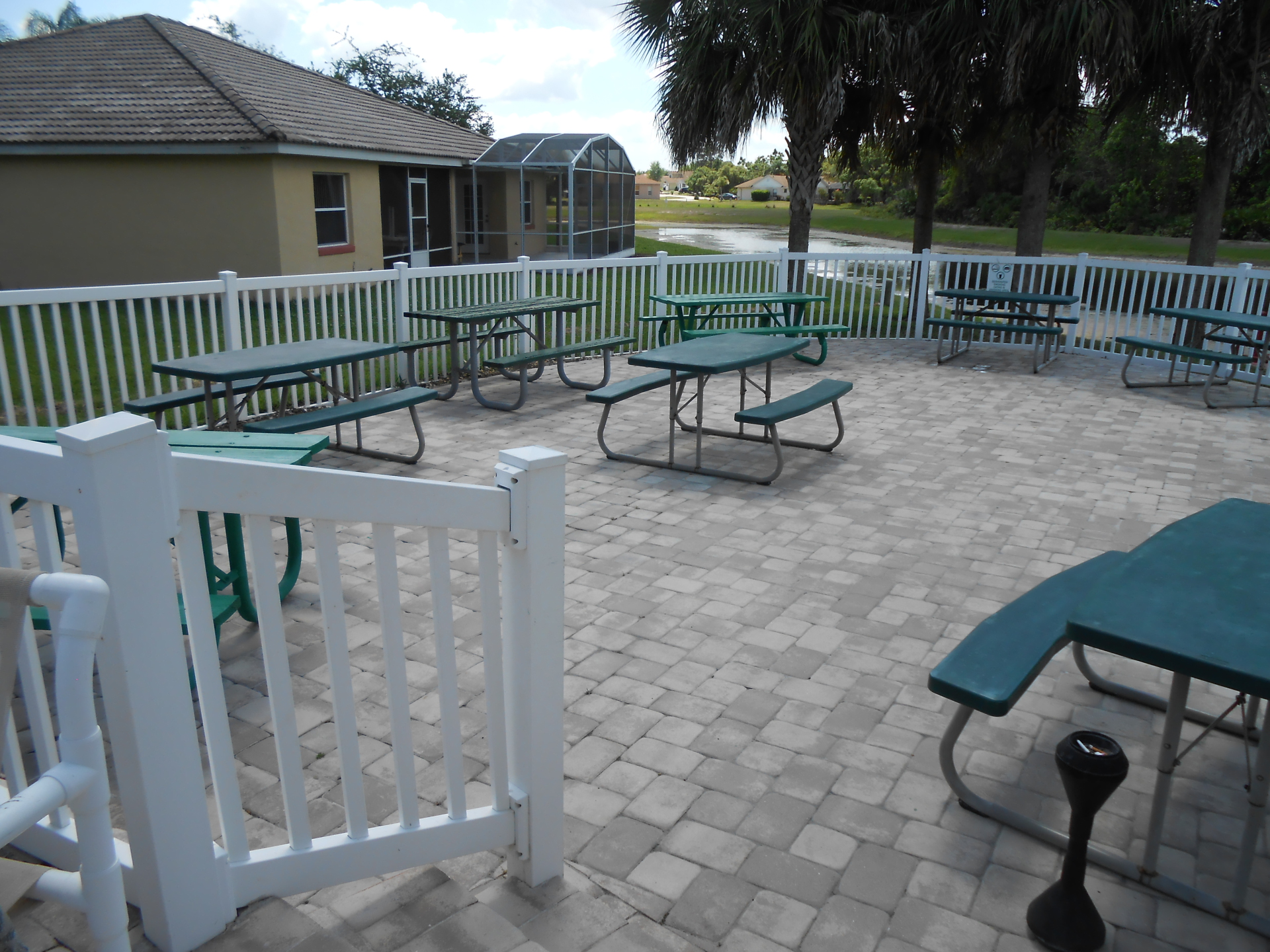 Picnic Area at main Club House