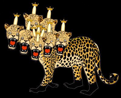 seven headed beast Revelation 13