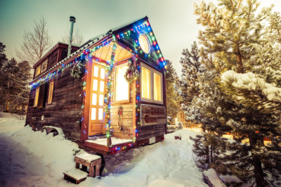 Happy Holidays from the Tiny House- Taking Chances