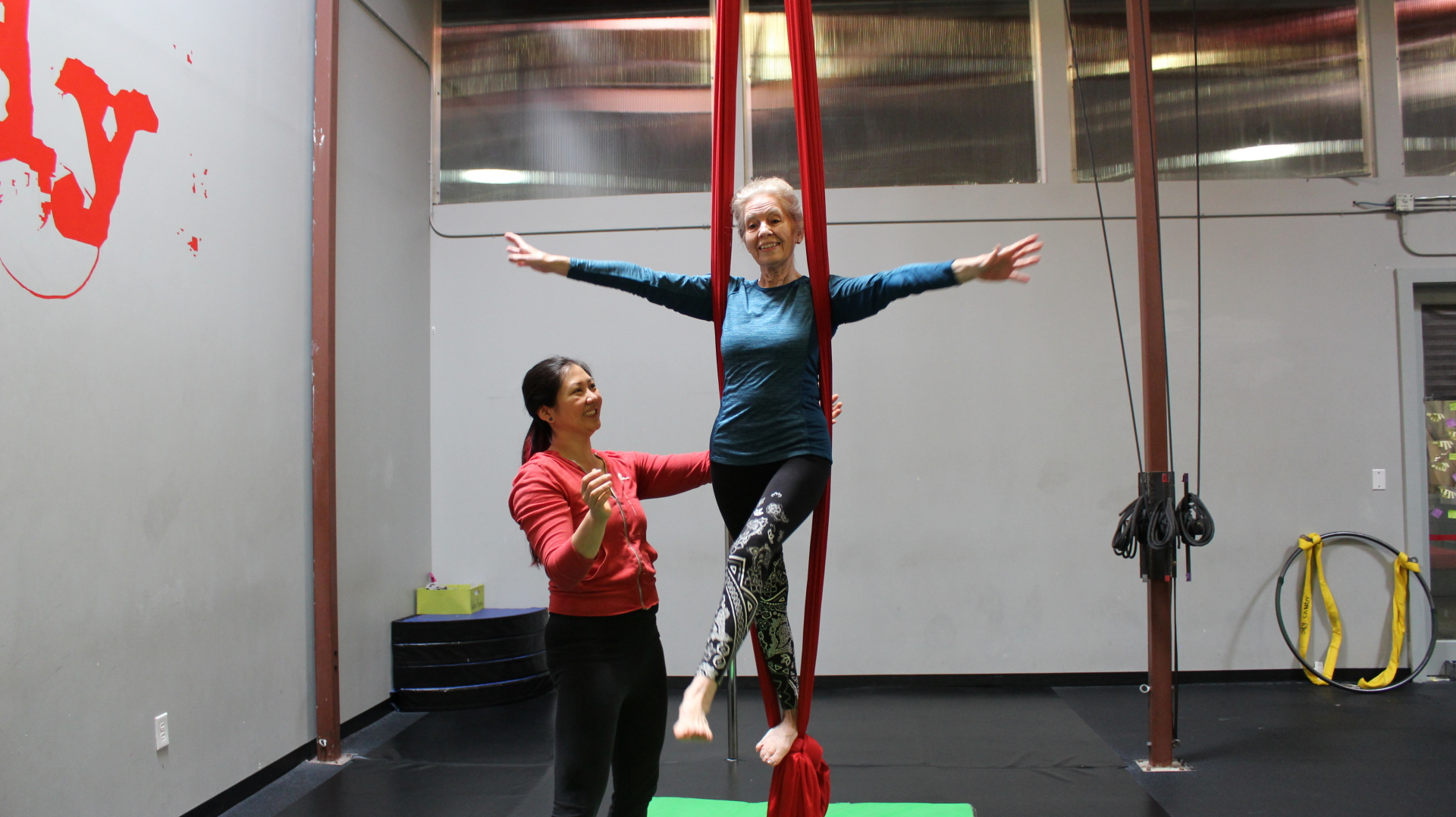 You're never too old for the circus!