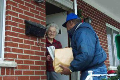 Meal Deliveries Benefit Seniors