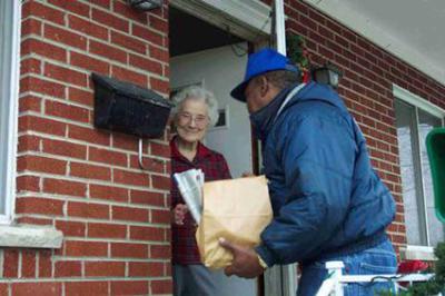 Meal Deliveries Benefit Seniors