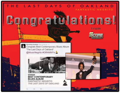 """Last Days of Oakland"" Wins Grammy for Best Contemporary Blues Album"
