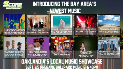ScoreGameDay.com Presents: The Bay Area Local Music Showcase