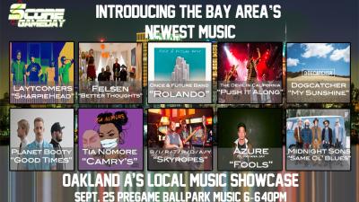 ScoreGameDay.com Presents: The Bay Area Local Music Showcase