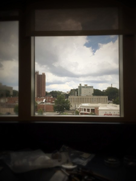 VIEW FROM THE LAB