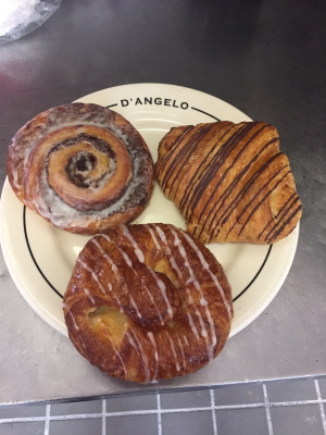 Fresh pastries
