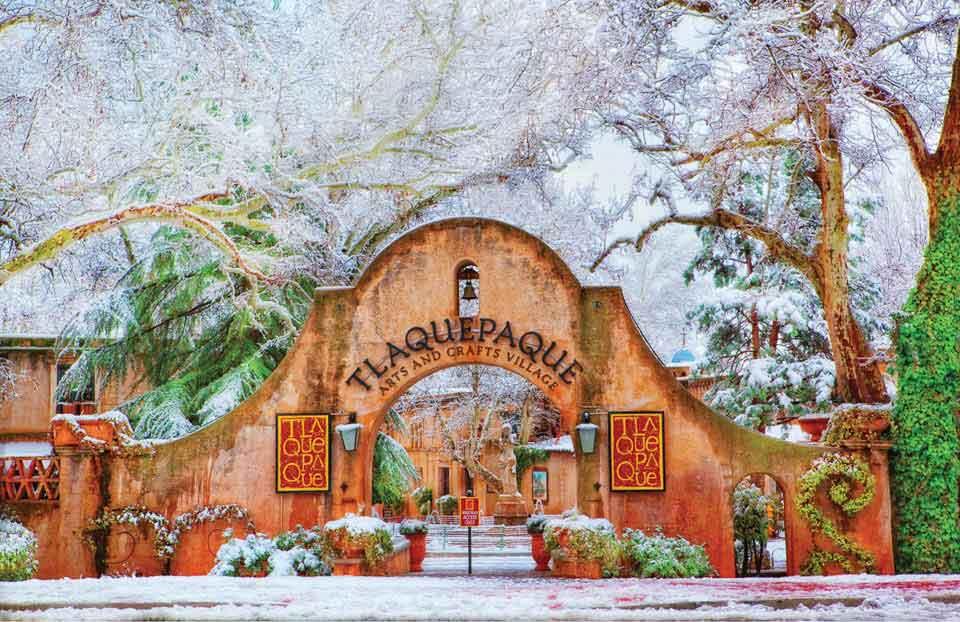 Tlaquepaque特拉克帕克工艺美术园-塞多纳的艺术和灵魂