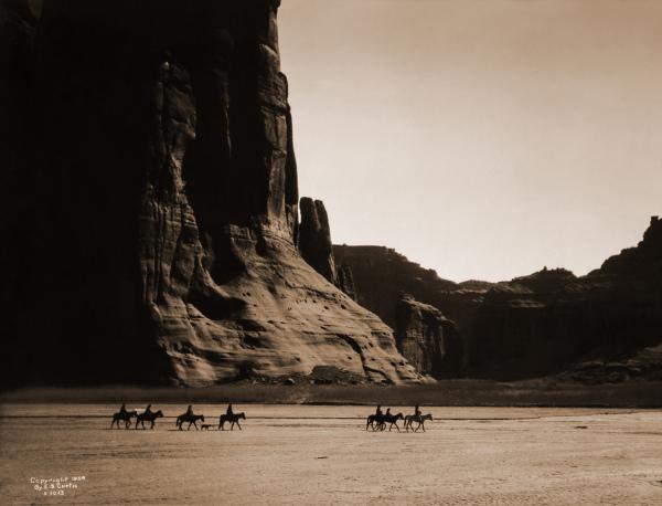 de chelly canyon德切利峡谷(部落圣地)