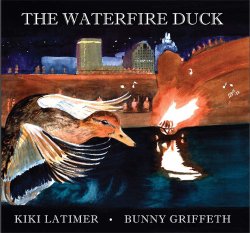 The WaterFire Duck, Author Kiki Latimer and Illustrator