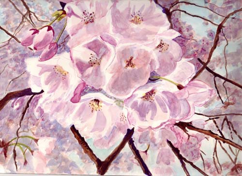 "<img src=""cherry blossoms floral painting.jpg"" alt=""original watercolor painting"">"
