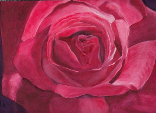 "<img src=""Red rose floral painting.jpg"" alt=""original watercolor painting"">"