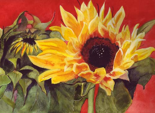 "<img src=""sunflower floral painting.jpg"" alt=""original watercolor painting"">"