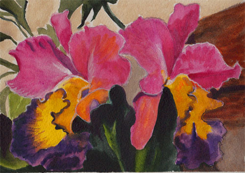 "<img src=""orchids floral painting.jpg"" alt=""original watercolor painting"">"