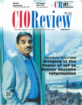 Ascendum CEO Kris Nair Featured on Cover of CIO Review