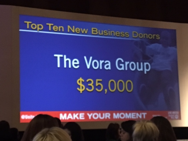 Vora Ventures Named the 2016 Top New Business Participant  by the United Way of Greater Cincinnati