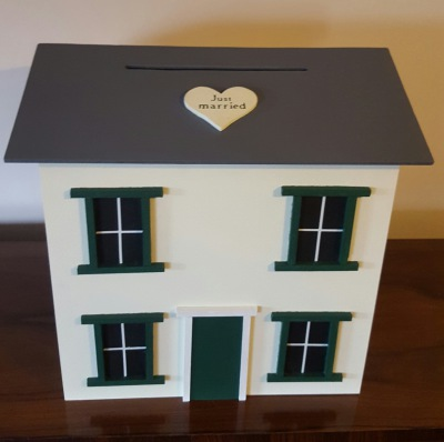 THE HOUSE WEDDING POST BOX HAS ARRIVED!