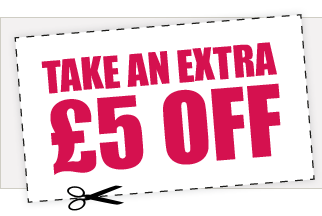 LEAP YEAR OFFER - £5 OFF!
