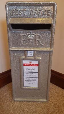 Silver Glitter Royal Mail Style option