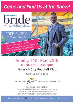 NCFC Wedding Show in 6 sleeps!