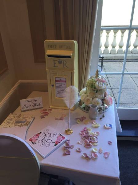 Pastel Lemon postbox, postbox hire, post box hire, wedding post box, yellow postbox, yellow post box, wedding postbox