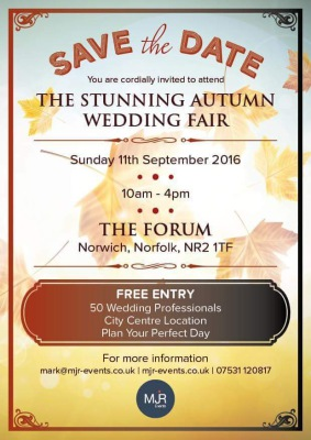 Wedding Fair season is upon us!