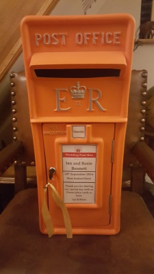 Orange Post Box!