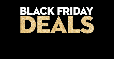 Our Black Friday Deals have been released!
