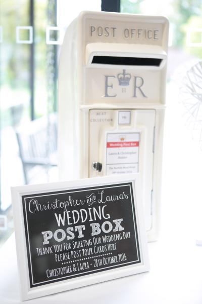 #Weddingpostbox #weddinghire #postboxhire #ivorypostbox #royalmailpostbox #personalisedpostbox