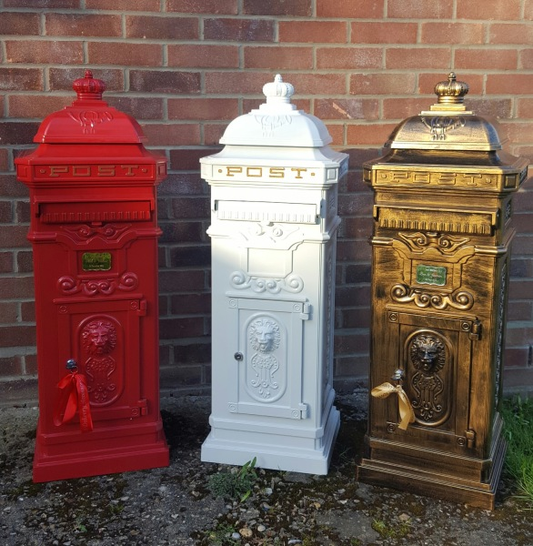 #weddingpostbox #wedding #postbox #castpostbox #floorpostbox #tallletterbox #tallpostbox