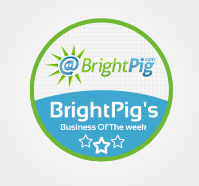 #BrightPigWinner - Business of the week award winner!!!!